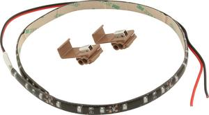 QUICKCAR RACING PRODUCTS 18 in Red LED Light Strip P/N 61-790