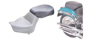 "Mustang Wide 11.5"" Rear Passenger Seat For Harley Davidson Softail Duece 00-07"