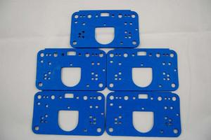 AED Holley 4500 Reusable Carburetor Metering Block Gasket 5 pc P/N 5846