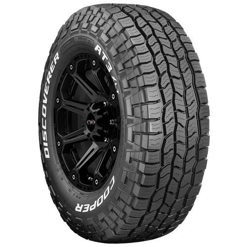 LT285/65R20 Cooper Discoverer A/T3 XLT 127/124S E/10 Ply White Letter Tire