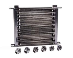 C AND R RACING 11 x 10 x 1-3/4 in Plate Type Universal Fluid Cooler P/N 41-20008
