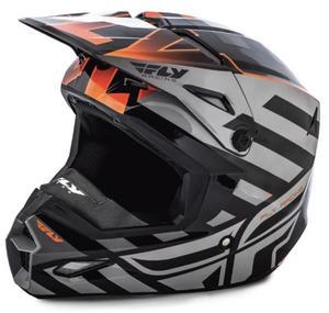 Fly Racing Elite Cold Weather Interlace Helmet Black/Orange (Black, X-Small)