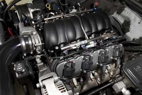 Holley 241-91 LS Valve Cover Fits 97-11 Camaro Corvette Black Krinkle  Finish sold by Dan's House of Speed | Motoroso