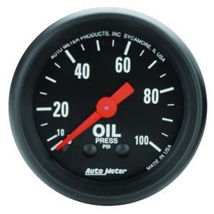 AutoMeter 2604 Z-Series Mechanical Oil Pressure Gauge