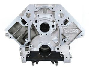 Racing Head Service (RHS) LS Aluminum Race Block Standard Deck 4.125 Bore