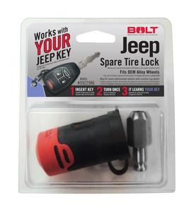 BOLT SPARE TIRE LOCK (JEEP)
