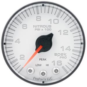 AutoMeter P320128 Spek-Pro Electric Nitrous Pressure Gauge