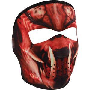 Zan Headgear Full Face Mask Slayer (Black, OSFM)