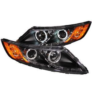 Anzo USA 121460 Projector Headlight Set w/Halo Fits 11-13 Optima