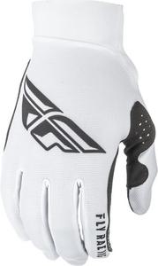 Fly Racing Kinetic Era Mesh Youth Gloves Red/White/Black (White, 6)
