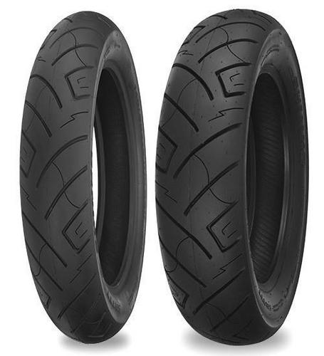 Shinko 87-4809 777 H.D. Reflector Rear Tire - 180/65-16