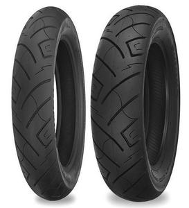 Shinko 87-4559 777 H.D. Reflector Rear Tire - 170/80-15