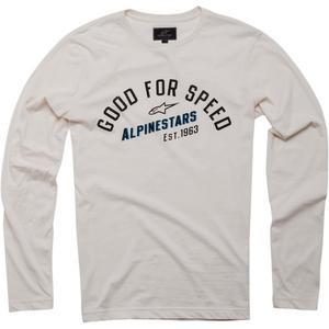 Alpinestars Uplift Long Sleeve Knit Shirt Off-White (White, Large)