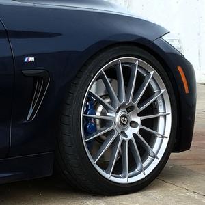 """19"""" HRE FF15 FLOW FORM SILVER CONCAVE WHEELS RIMS FITS BMW X3"""