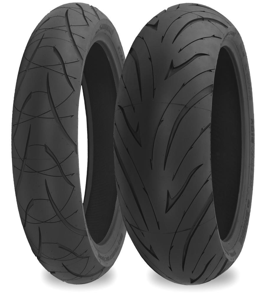 Shinko 87-4098 016 Verge 2X Rear Tire - 190/50ZR17