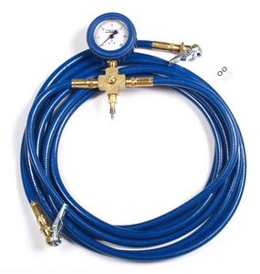 Percy's High Performance Tire Pressure Equalizer with 0-30psi gauge and bleeder