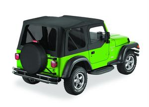 Bestop Replace-A-Top Fabric-only Soft Top - Jeep 2003-2006 Wrangler (Except Unli