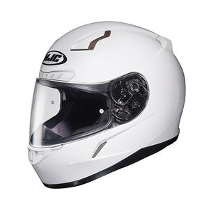 HJC CL-17 Series Solid White Adult Helmet 2X Extra Extra Large