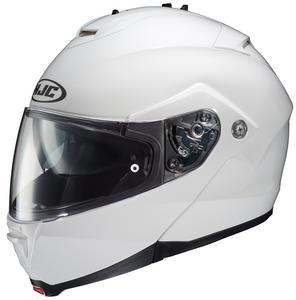 HJC IS-Max II Solid Helmet (White, Small)