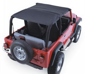 Rampage 94015 Combo Brief/Topper Fits 92-95 Wrangler (YJ)