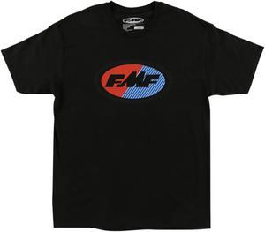 FMF Racing Adult Slice Tee T-Shirt Black M
