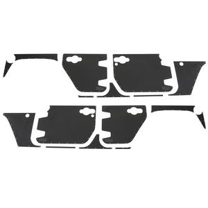 Smittybilt 76994 Mag-Armor Magnetic Trail Skins For 07-18 Wrangler JK Set Of 15
