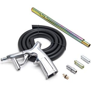 Biltek NEW Sandblaster Kit 7pc Air Nozzles Sandblasting Gun Tubes Pick Up Sand Blaster