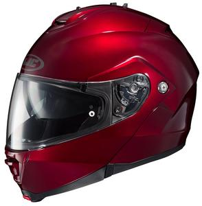 HJC IS-Max II Solid Helmet Metallic Wine (Red, Small)