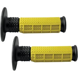 Avon Grips MXW10 Half-Waffle MX Grips - Yellow