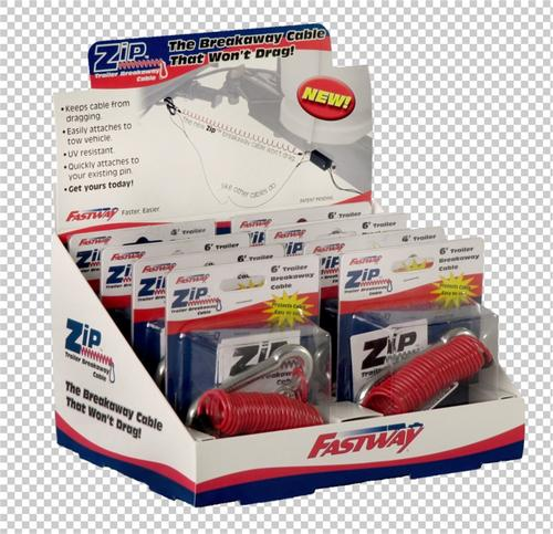 Fastway Trailer 80-01-9214 Folding Merchandise Display Box