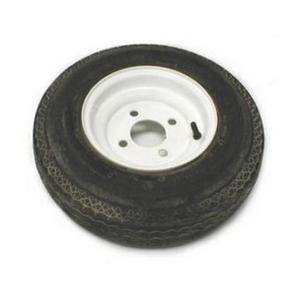 AWC TA2283712-70B480C Bias C/6 Ply, Standard, Trailer Tire/Wheel Kit - 4.80-8 - 5/4.5