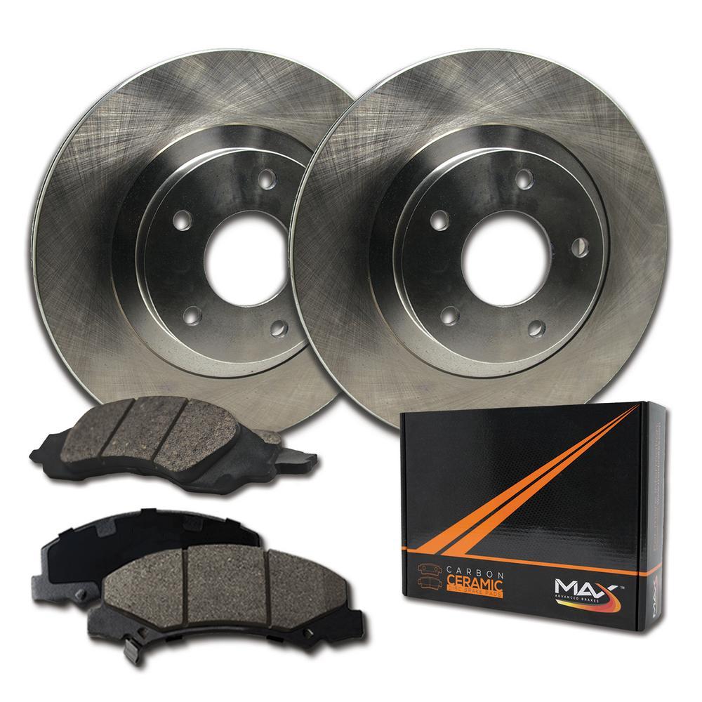 |Rear 2007 2008 2009 MB CLKS550 E350 Rotors w//Ceramic Pads OE Brakes