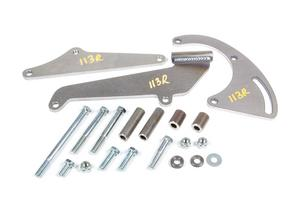 ALAN GROVE SBC Pass Side Low Profile Air Conditioning Bracket Kit P/N 113R
