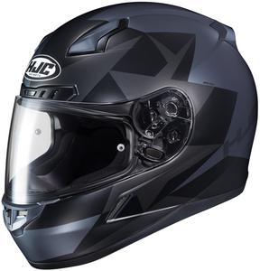 HJC CL-17 Ragua Helmet Semi-Flat Black (MC-5SF) (Black, X-Large)