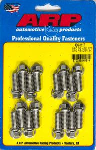 ARP Universal Polished 3/8-16 in Thread Header Bolt 16 pc P/N 400-1117