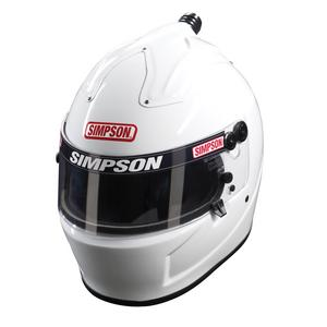 SIMPSON SAFETY Size 7-1/8 White Air Inforcer Shark Helmet P/N 6777181