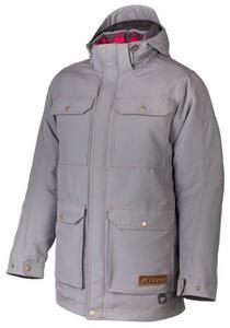 Klim Tundra Parka Snowmobile Jacket Gray Mens Size XL
