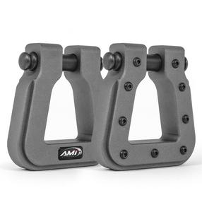 All Sales 8802AM-2 Demon Hook Square D-Ring