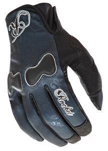 Joe Rocket Lady Rocket Nation Gloves Black/Black (Black, Medium)
