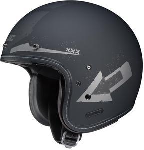 HJC IS-5 Arrow Helmet Flat Black (MC-5F) (Black, X-Large)