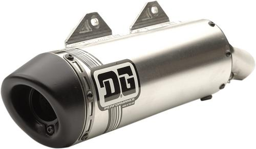 DG V2 Slip On Muffler Exhaust For Suzuki LTZ400 LTZ 400 03-14 073-6130 |  Motoroso