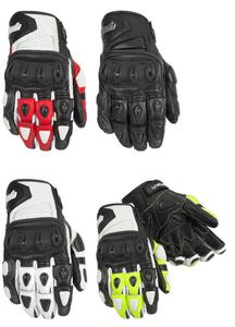 Cortech Adult Impulse ST Motorcycle Street Gloves White/Red L