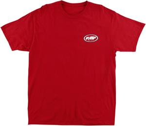 FMF Racing Adult Stokes Tee T-Shirt Red M