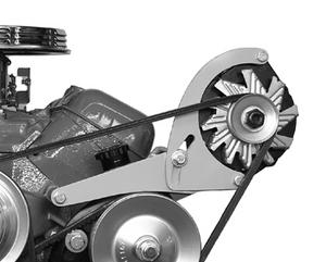 ALAN GROVE COMPONENTS BBC Head Mount Low Profile Alternator Bracket Kit P/N 222L