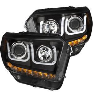 Anzo USA 111318 Projector Headlight Set Fits 14-18 Tundra