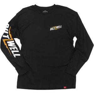 Biltwell Inc. Bolt Long-Sleeve Shirt (Black, Large)