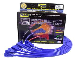 Taylor Cable 74609 8mm Spiro-Pro Ignition Wire Set Fits Camaro Corvette Firebird