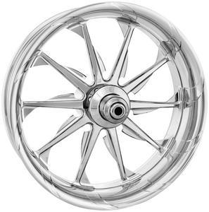 Xtreme Machine 1204-7106R-XLAAJ-CH Launch Front Wheel (Dual Disc) - 21x3.5in. - Chrome
