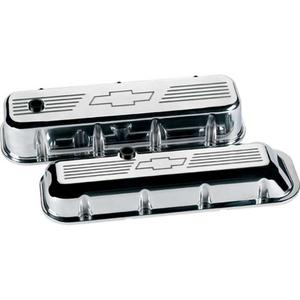 BILLET SPECIALTIES BBC Polished Bowtie Tall Valve Covers P/N 96121