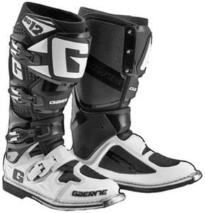 Gaerne SG-12 Boots Black/White (Black, 8)